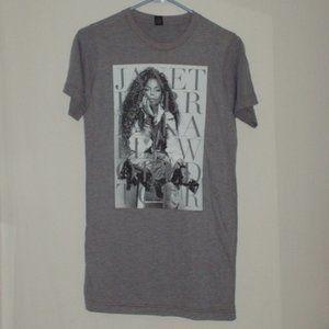Janet Jackson Unbreakable Tour T-shirt size small